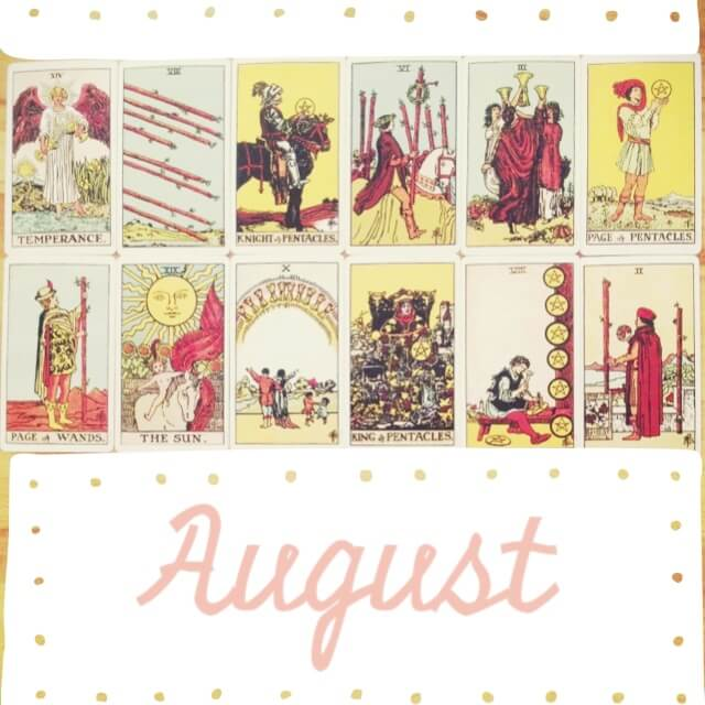 TAROTSCOPES: AUGUST 2013