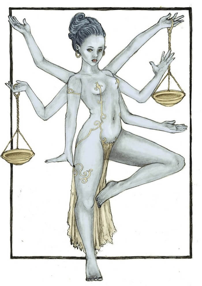 VENUS IS HER NAME: A YOGA SEQUENCE FOR LIBRA