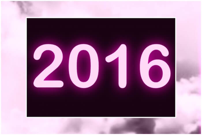 ON CLOUD NINE: 2016 NUMEROLOGY