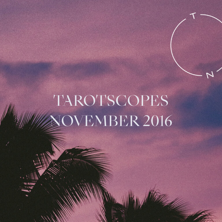 NUMINOUS TAROTSCOPES: NOVEMBER 2016