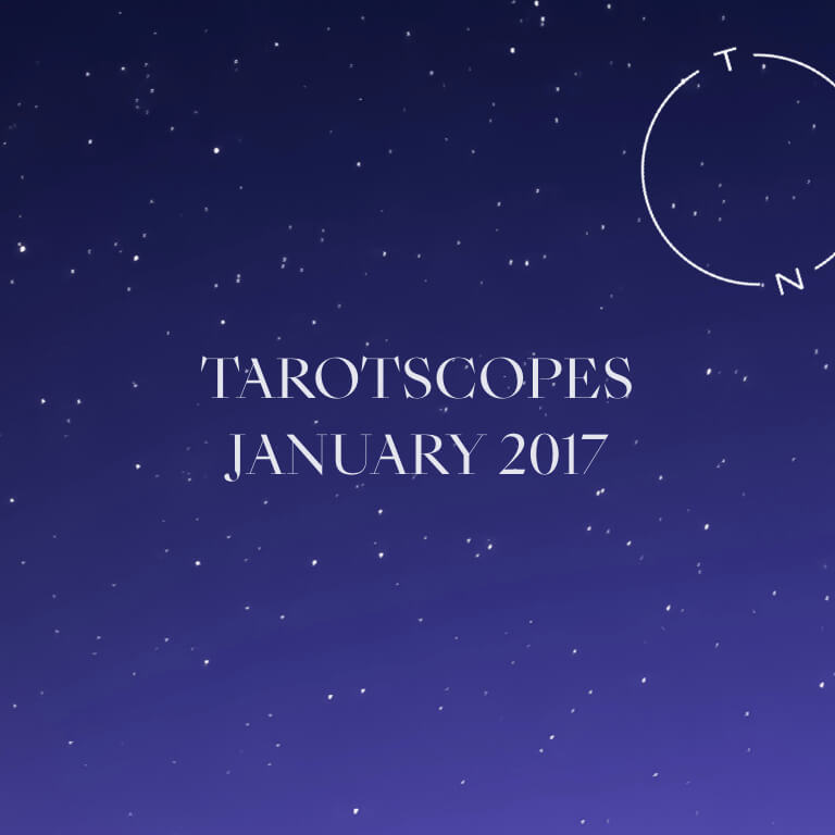 NUMINOUS TAROTSCOPES: JANUARY 2017