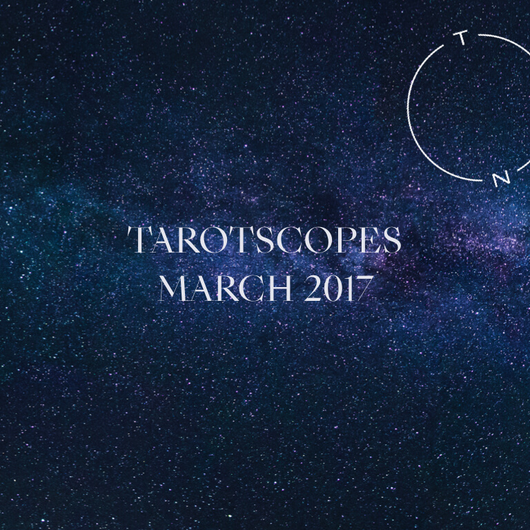 NUMINOUS TAROTSCOPES: MARCH 2017