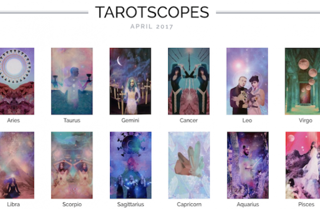 NUMINOUS TAROTSCOPES: APRIL 2017