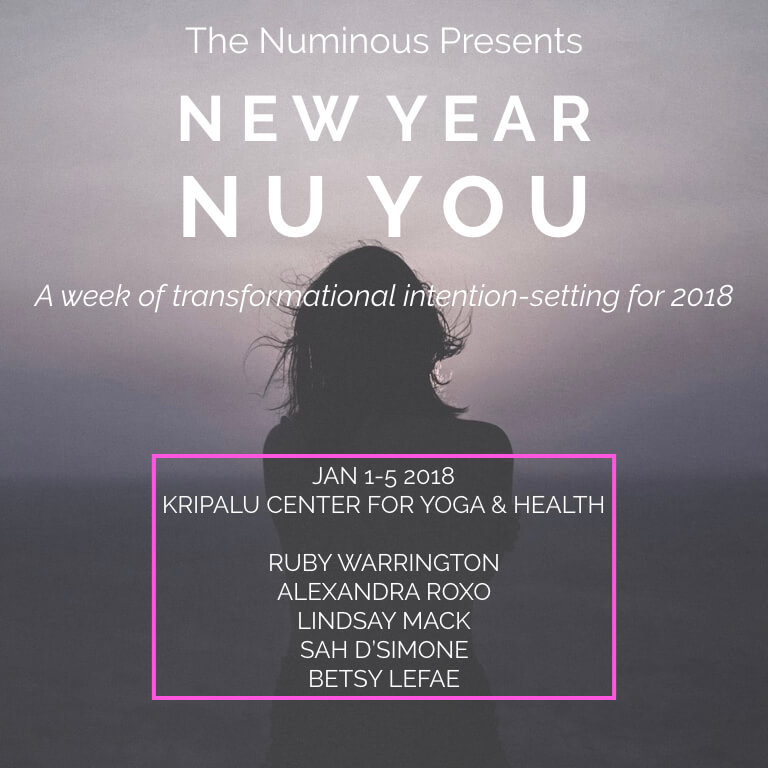 JOIN OUR NEW YEAR, NU YOU RETREAT + HAVE THE BEST NEW YEAR'S EVER