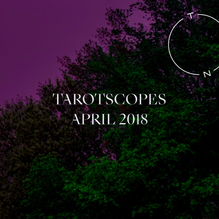 NUMINOUS TAROTSCOPES: APRIL 2018