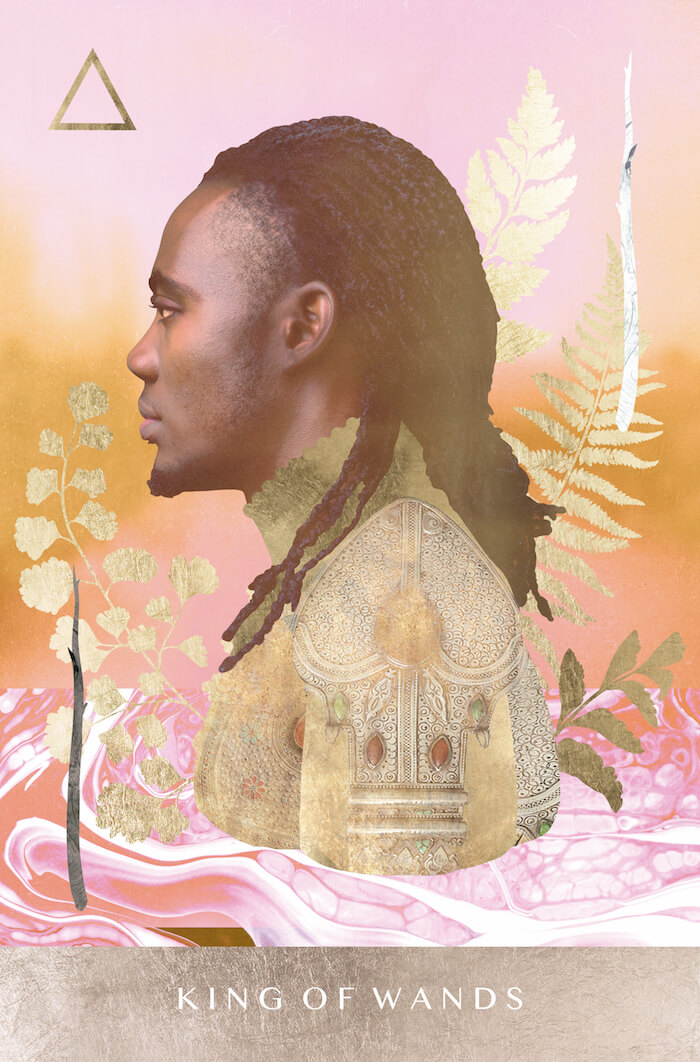 King of Wands Moonchild Tarot Tarotscopes August 2018 The Numinous Melinda Lee Holm