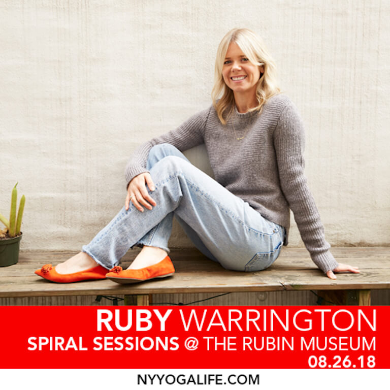 Ruby Warrington Ruben Museum Spiral Sessions August 26 2018 Full Moon Celebration
