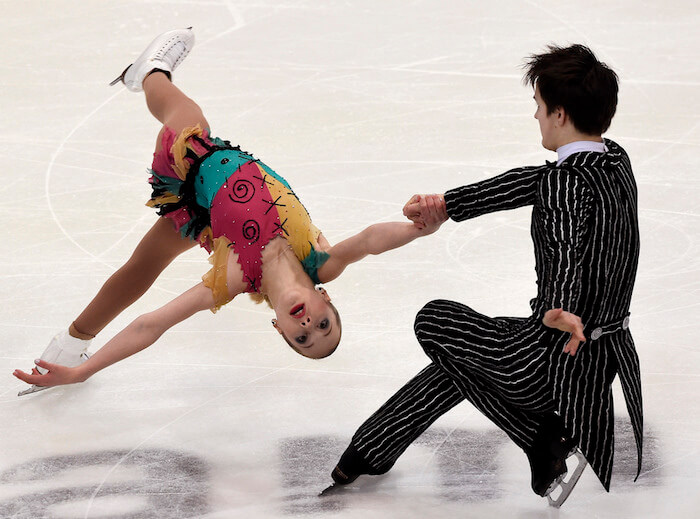 Pairs figure skating The Numinous Libra Season 2018 Bess Matassa