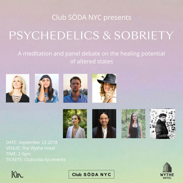 Club SÖDA NYC Psychedelics and Sobriety Sober Curious Ruby Warrington