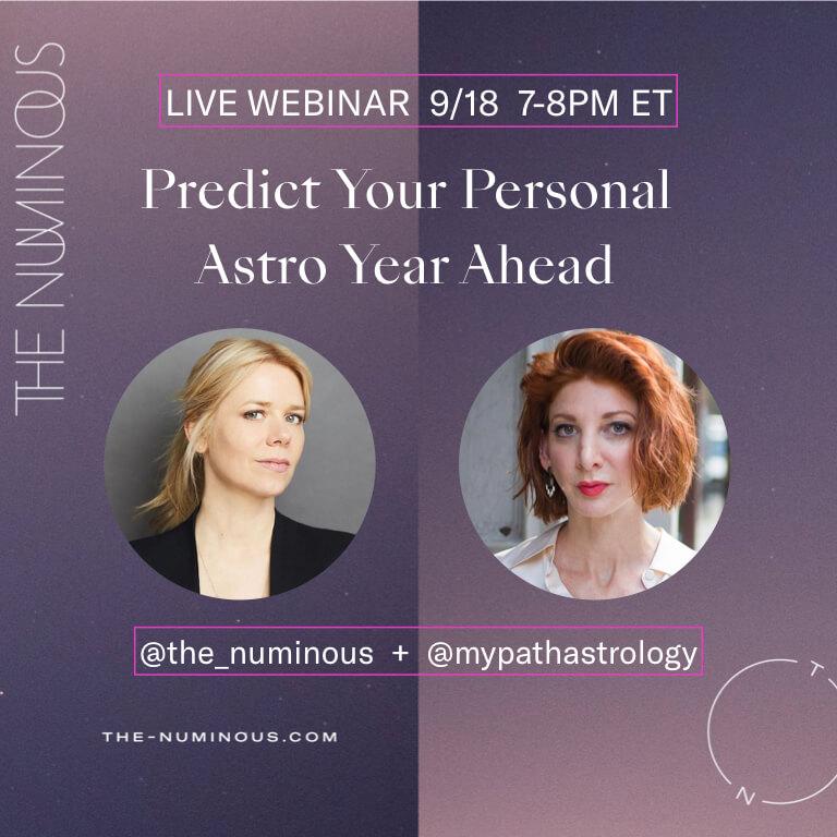 Rebecca Gordon Ruby Warrington The Numinous astrology webinar