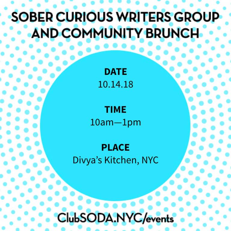 October Sober Curious Writers Brunch The Numinous Ruby Warrington Cub SÖDA NYC