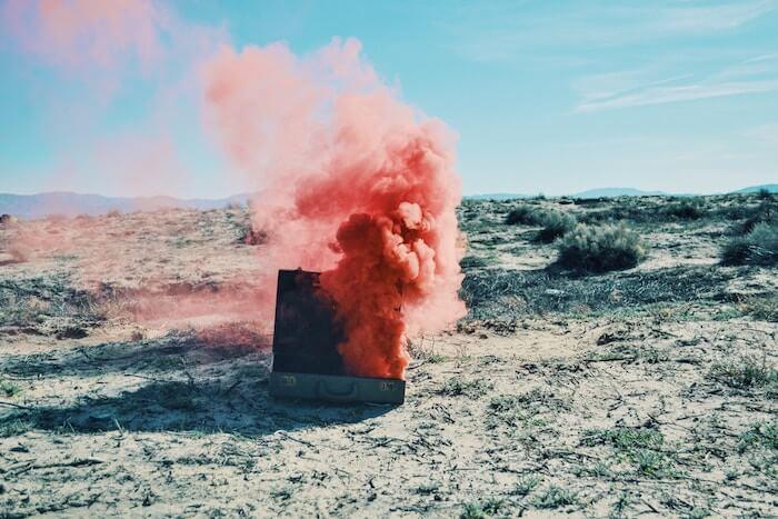 The Numinous Sagittarius astrology astro Sagittarius Season 2018 Bess Matassa suitcase in the desert