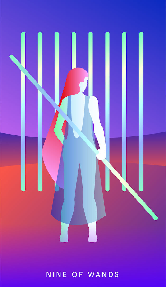 numinous tarotscopes november 2018 ruby warrington grace duong mystic mondays tarot the numinous material girl mystical world melinda lee holm 9 of wands