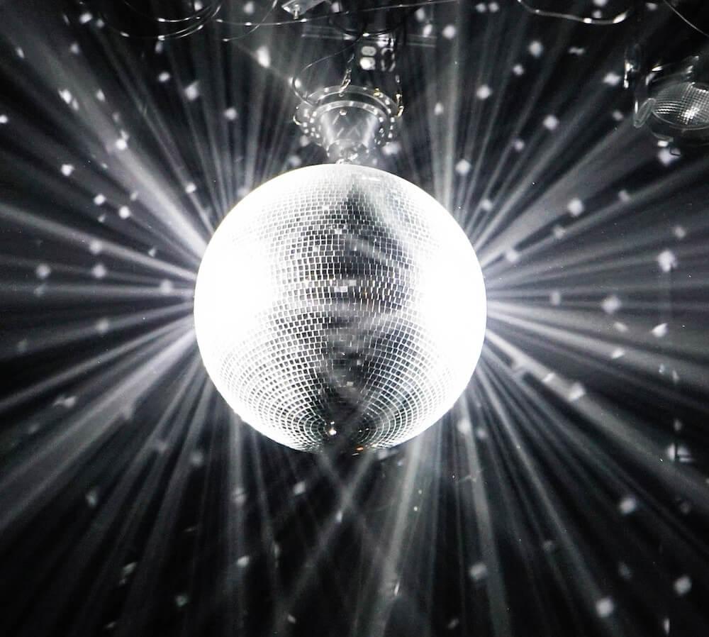 Disco ball Club SÖDA NYC Ruby Warrington The Numinous