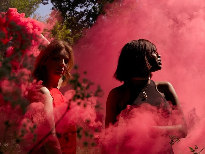 witchy mystical red smoke Adama Sesay The Numinous